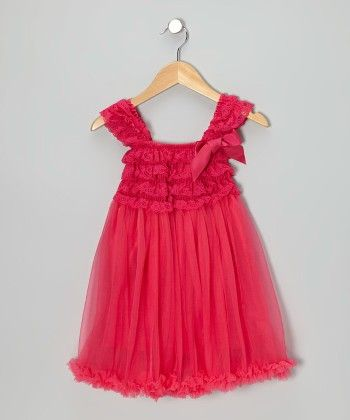 Pink Sleeveless Dress With Pink Bow - Tutu And Lulu