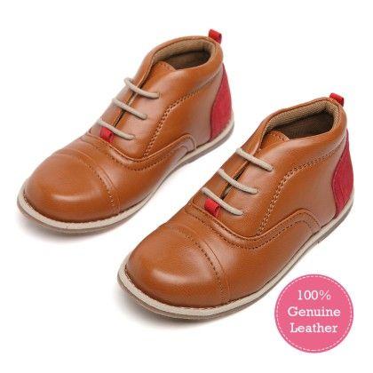 Tuskey Brown Formal Shoe - Tuskey Shoes