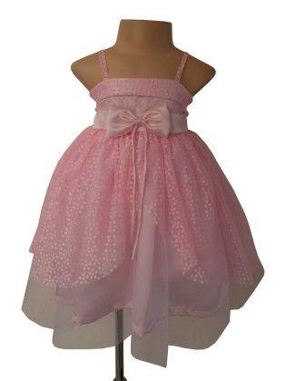 Dotted Pink Princess Dress  - Pink - Faye