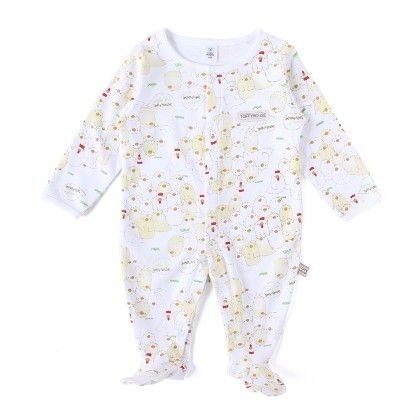 Penguin Allover Print Soft Sleepsuit - TOFFYHOUSE