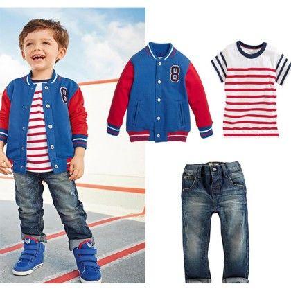 Cotton Tshirt ,denim Trouser ,cotton Jacket - Dell's World