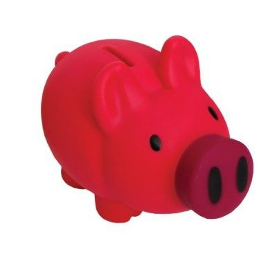 Piggie Bank Big Snout Coin Bank, Dark Pink - Gerardo's