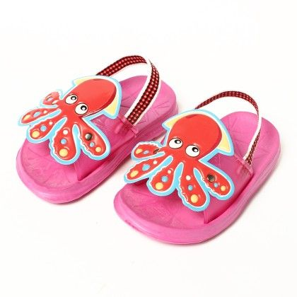 Animal Face Slip Ons-pink - Red Apple