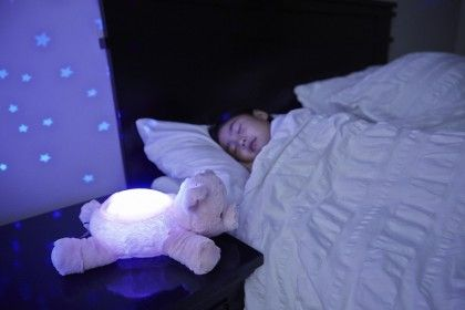 Twilight Buddies Plush Toy With Nightlight -pig - Cloud B