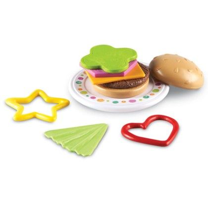 Bright Bites™ Burger Shapes - Learning Resources