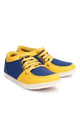 Boy's Sneaker Shoe Blue - CURIOZZ BOYS