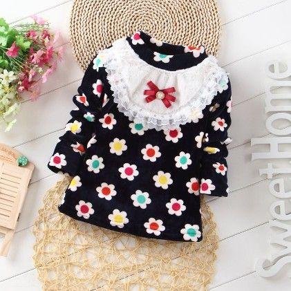 Black Floral Printed Top - Maisie