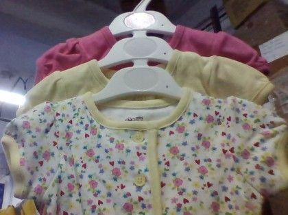 3 Pcs Bodysuit For Baby's With Flower Print (do Not Make Active) - Mini Klub