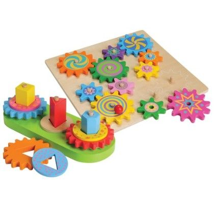Wooden Gear Set - Constructive Playthings