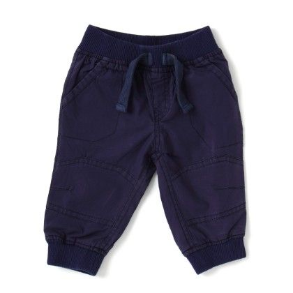 Cucumber Full Length Track Pant - Navy Blue