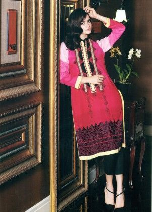 Festive Kurti Collection - Mauve Collection