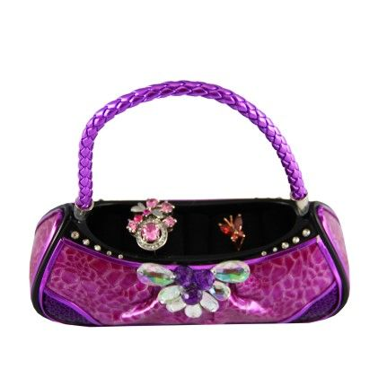 Urban Glam Handbag Ring Holder Purple - Jacki Design