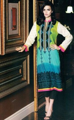 Festive Kurti Collection Green - Mauve Collection