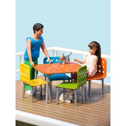 Stockholm Terrace Furniture - Lundby