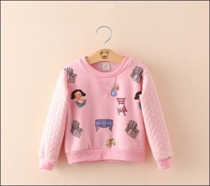 Print Sweatshirt For Winter Gals By Mauve - Mauve Collection