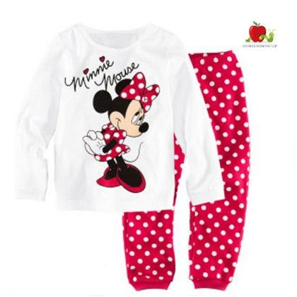 Minnie Mouse With Polka Dot Pyajma Set - Adores