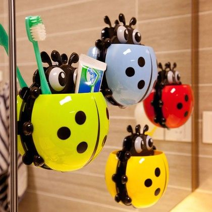 Insect Toothbrush Holder Assorted - HitPlay