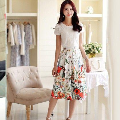 Floral Dress Dress - Oomph