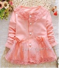 Peach Girl Baby Pink With Pretty Lace And Net - Peach Giirl