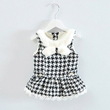 Beautiful Sleeveless Dress With Bow - Gray - Mellow