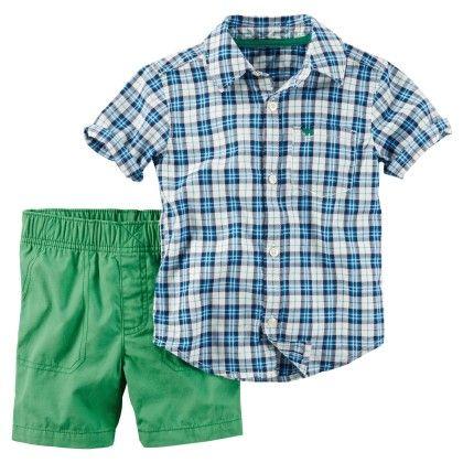 2-piece Shirt & Short Set - Carter's - 220309