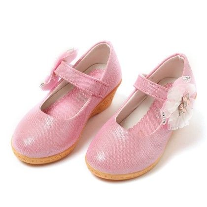Shoes With Flowron Side Pink - Best Shoes