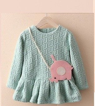 Cute Winter Tunic For Lil Gals With Sling By Mauve - Mauve Collection