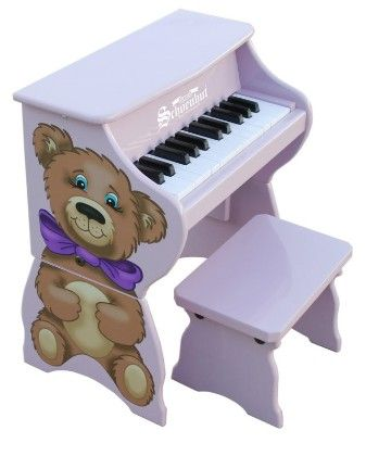 25 Key Teddy Bear W - Bench - Toy Piano