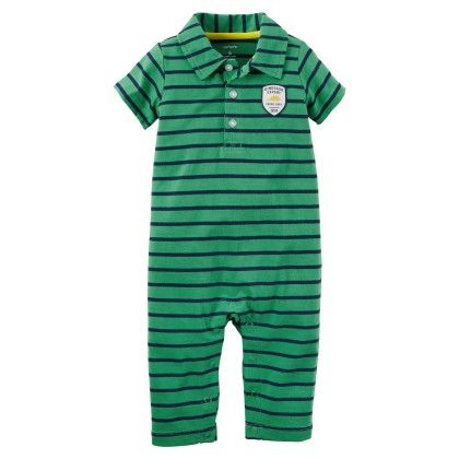 Striped Polo Jumpsuit - Carter's