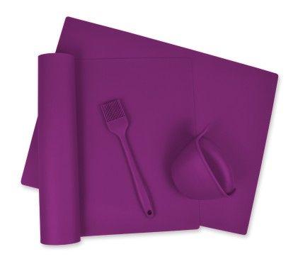 Purple 4-piece Kitchen Baking Set - Design Imports