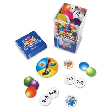 Pop For Addition & Subtraction Game - Learning Resources