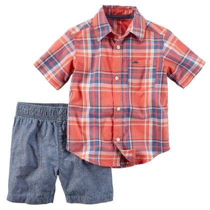 2-piece Shirt & Short Set - Carter's