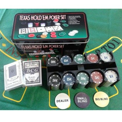 Poker Chip Set - Silver Case - Total Gift Solutions