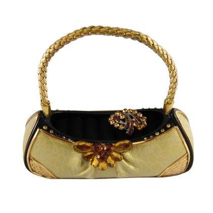 Urban Glam Handbag Ring Holder Gold - Jacki Design