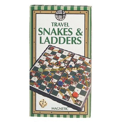 Magnetic Snakes & Ladders - House Of Marbles