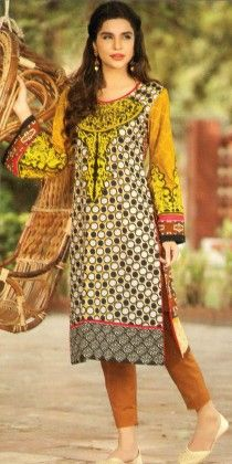 Kurti Collection Yellow - Mauve Collection
