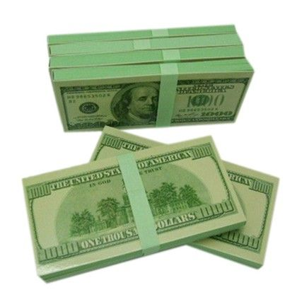 Dollar  Notepad - Total Gift Solutions
