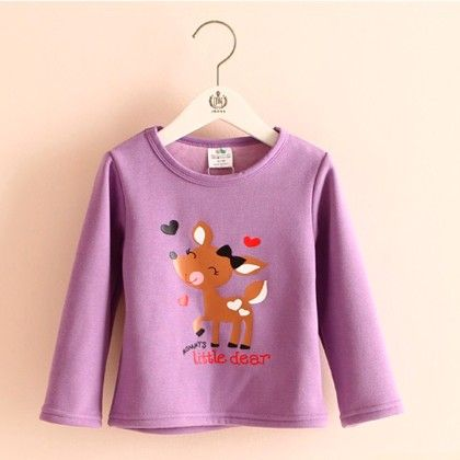 Purple Deer T-shirt - Mauve Collection