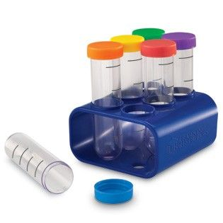 Primary Science Jumbo Test Tubes With Stand - Learning Resources