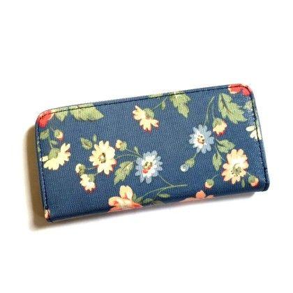 Floral Printed Wallet - Violette