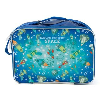 Overnight Bag - Blue Space Print - It's All About Me