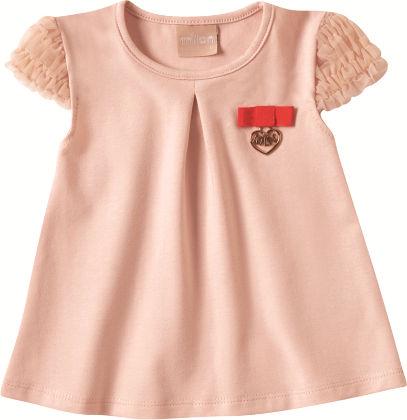 Pink Ruffle Sleeve Blouse - Milon