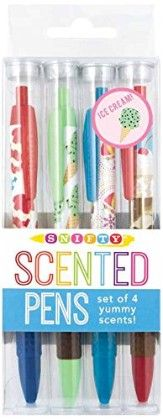 Snifty Ice Cream Scented Pens Set - International Arrival