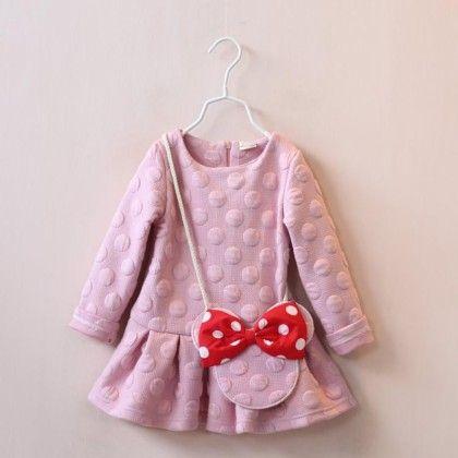 Cute Micky Sling Peplum Tunic - Mauve Collection
