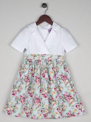 Floral Audrey Dress - Joe Ella