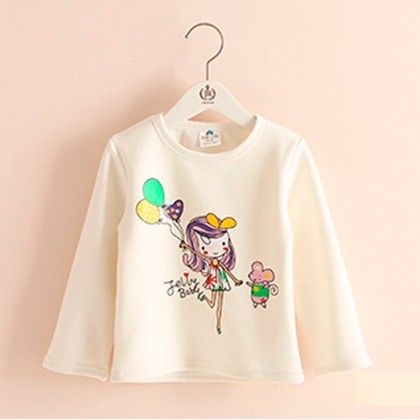 White Balloon T-shirt - Mauve Collection