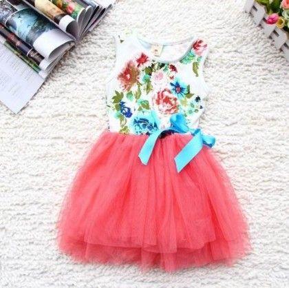 Red Summer Dress - Tickles