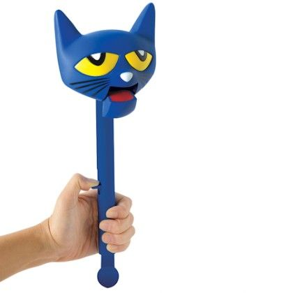 Pete The Cat Puppet-on-a-stick - Educational Insights