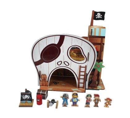 Pirate Table Top Play Set - Teamson Kids