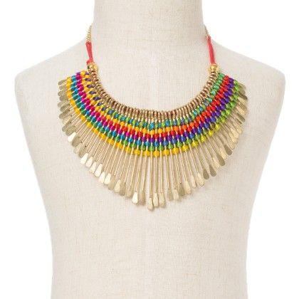 Multi Colour Neck Piece - Wilfred Jewellery